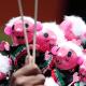 FOTO Felicidad de mexicanos aumentó por triunfo electoral de AMLO, según informe Mundial sobre Felicidad (AP 8 agosto 2018 cdmx)