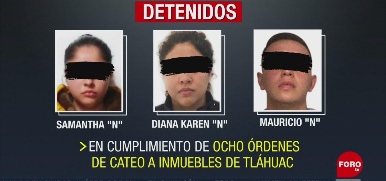 Foto: FGR detiene a personas presuntamente implicadas con el Cártel de Tláhuac
