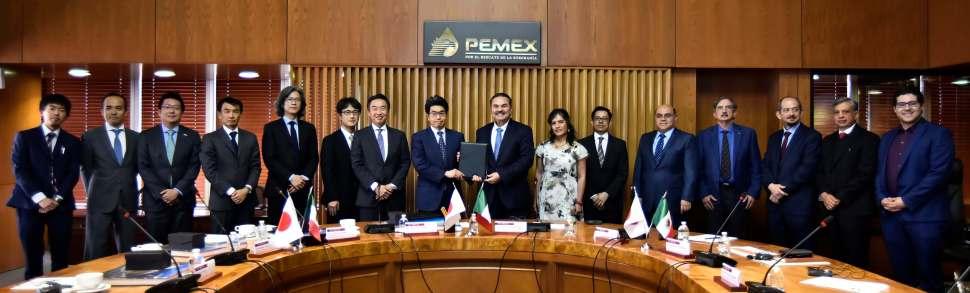 Pemex firma con banco japonés, Pemex, 7 de marzo de 2019