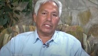 Foto: Captura de pantalla de una entrevista al periodista mexicano Emiliano Gutiérrez Soto