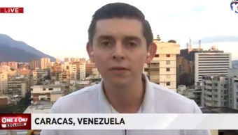 Foto: Captura de pantalla de un video del periodista estadounidense, Cody Weddle, en enero de 2019