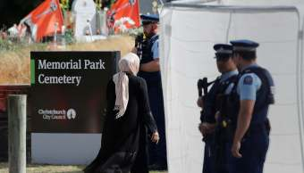 Foto: Entierran en el Memorial Park en Christchurch, Nueva Zelanda, a las víctimas de masacre en mezquitas. El 20 de marzo del 2019