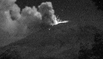 Video del cráter del Popocatepetl desde altura prohibida