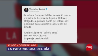 Foto: Fox Amlo Paparrucha Del Día 28 de Marzo 2019