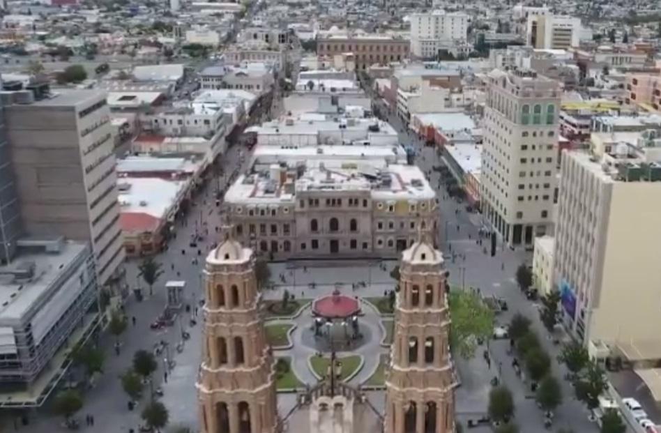 Foto: En plena primavera continúan las temperaturas bajo cero en algunos municipios de Chihuahua por el frente frío número 48, marzo 31 de 2019 (Twitter: @GobMunChih)