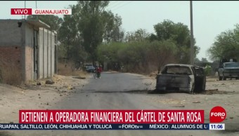 Fuerzas federales mantienen operativo en Santa Rosa, Guanajuato