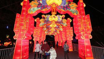foto Show de luces en el Parque de la Expo de Shanghai