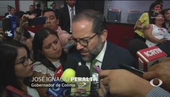 FOTO: Gobernador de Colima acepta renuncia del secretario de Turismo tras polémica, 8 marzo 2019