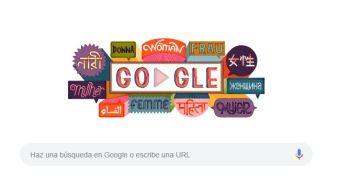 Foto: Google conmemora el Día Internacional de la Mujer, 8 marzo 2019