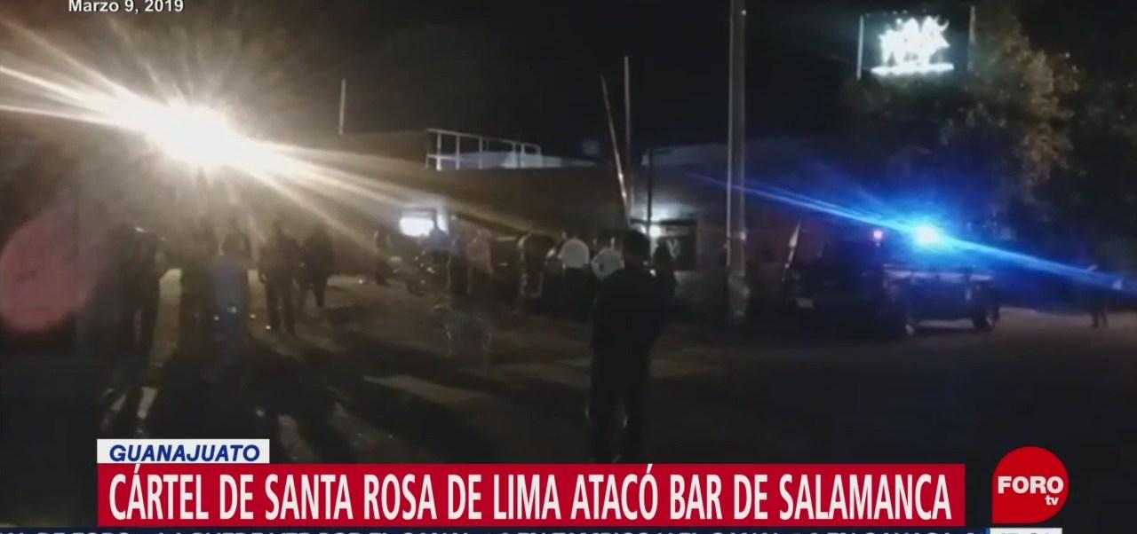 Foto: Identifican a agresores en bar de Salamanca, Guanajuato