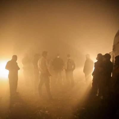 Activan alerta atmosférica por incendio en vertedero en Ocotlán, Jalisco