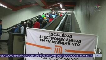 Incidentes en la Línea 7 del Metro CDMX