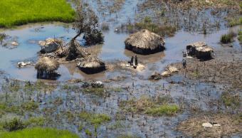 Foto: Inundaciones en Mozambique, 27 de marzo de 2019