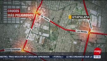 Foto: Iztapalapa, la alcaldía con cruces viales más peligrosos
