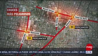 Foto: Iztapalapa Cruces Peligrosos Automovilistas Peatones Cdmx 20 Marzo 2019