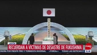 Foto: Japón conmemora 8 años de terremoto y tsunami de 2011