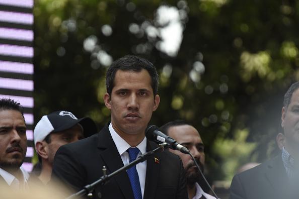 Foto:Juan Guaidó, jefe del Parlamento de Venezuela y autoproclamado presidente interino del país sudamericano 28 marzo 2019