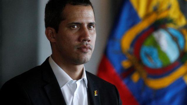 Foto: El autoproclamado presidente interino de Venezuela, Juan Guaido, ha recorrido naciones sudamericanas, el 3 de marzo de 2019 (Reuters)
