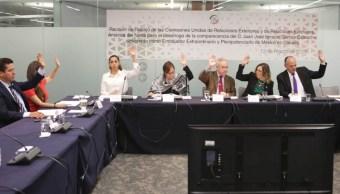 Ratifican en comisiones a Juan José Gómez Camacho como embajador de México en Canadá
