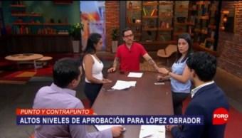 Foto: Aprobación Amlo Aumentando Lopez Obrador 12 de Marzo 2019