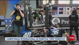 FOTO: La competencia de robótica para adolescentes de FIRST, 31 Marzo 2019