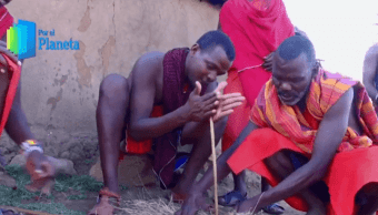 Foto: Miembros de la comunidad Masái, en Kenia, África, febrero de 2019