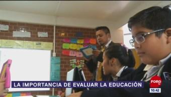 La importancia de evaluar la educación