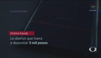 Foto: Patrona Nueva Modalidad Fraude Telefónico 25 de Marzo 2019
