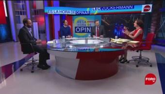 Foto: Reforma Educativa Debate CNTE AMLO 27 de Marzo 2019