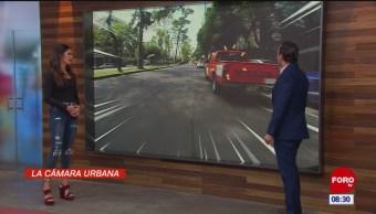 #LaCámaraUrbana en Expreso: Camioneta estacionada en doble fila