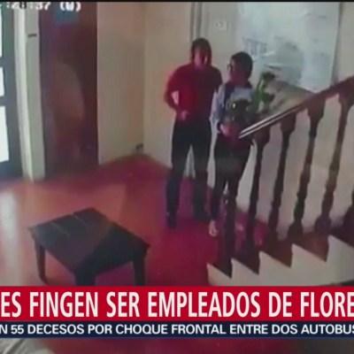 Ladrones fingen ser empleados de florería en Puebla