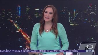 FOTO: Las noticias, con Danielle Dithurbide: Programa del 18 de marzo del 2019, 18 marzo 2019