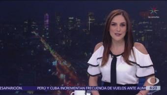 Foto: Las noticias con Danielle Dithurbide: Programa del 8 de marzo del 2019