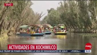 FOTO:Las trajineras de Xochimilco, 23 Marzo 2019