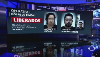 FOTO: Liberan a presunta operadora financiera del Cartel de Santa Rosa de Lima, 8 marzo 2019