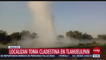 FOTO:Localizan toma clandestina en Tlahuelilpan, Hidalgo, 24 Marzo 2019
