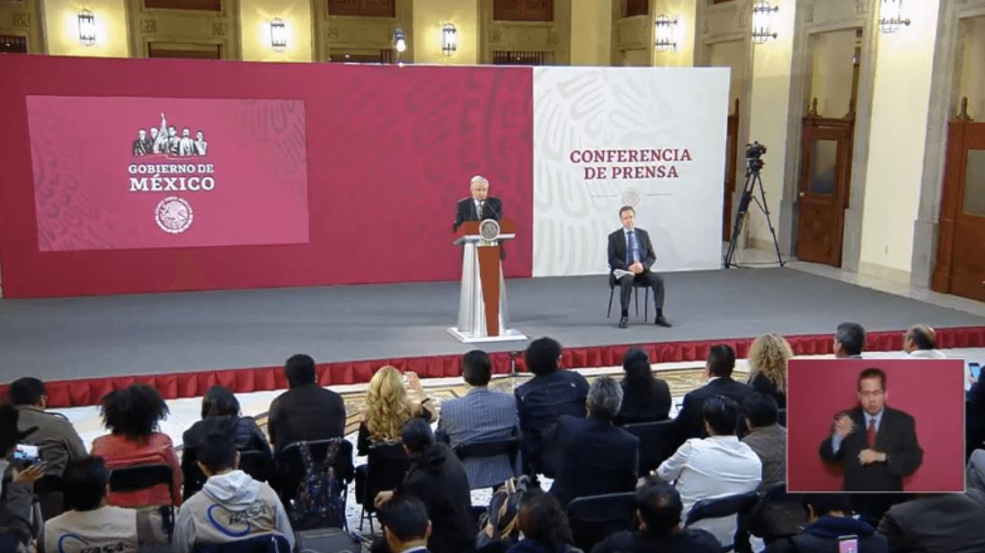 Foto: López Obrador, conferencia de prensa del 29 de marzo, Ciudad de México