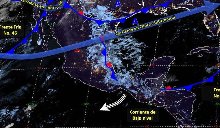 Foto: Imagen de los fenómenos meteorológicos a las 06:00 horas, 21 marzo 2019