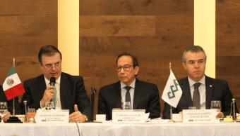 hay avances económicos y disminuirá incertidumbre, dice Carlos Salazar, presidente del CCE, Twitter, @CCEoficial , 8 de marzo de 2019