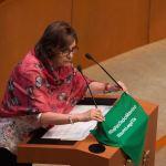 foto Martha Lucía Micher morena senado aborto