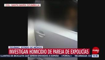 Foto: Matan Pareja Expolicas Frente Tres Hijos Tecamac 15 de Marzo 2019