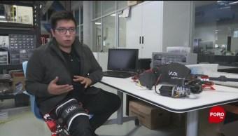 FOTO:Mexicanos hacen exoesqueleto para rehabilitación ortopédica, 9 marzo 2019