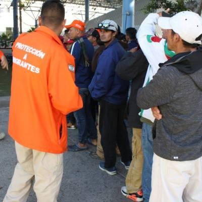 Llegan 180 migrantes centroamericanos a Sonora