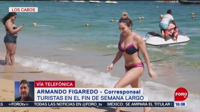 FOTO: Miles de turistas disfrutan fin de semana largo en playas de México, 16 marzo 2019
