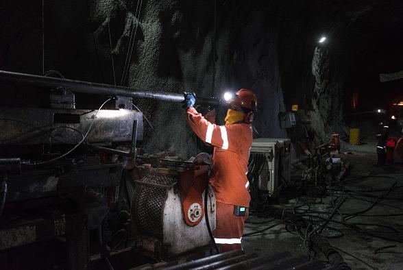 Foto: Minero en San Luis Potosí, 4 de abril de 2018