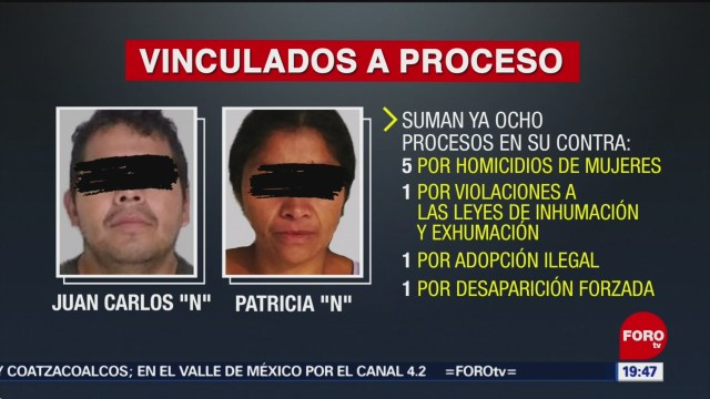FOTO: 'Monstruos de Ecatepec' suman 8 procesos en su contra, 10 marzo 2019