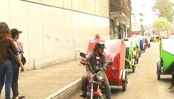 Red de mototaxis vinculada a 'El Ojos' va a operar legalmente