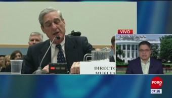 Foto: Mueller no encontró evidencia de colusión de Trump con Rusia