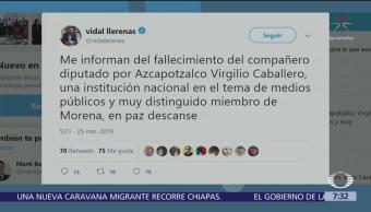 Foto: Muere el diputado por Azcapotzalco, Virgilio Caballero