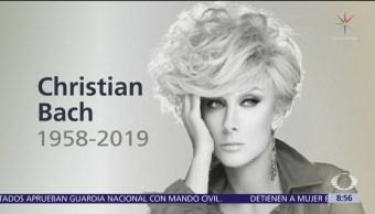 Muere la actriz Christian Bach a los 59 años de edad